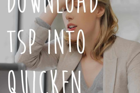 How to Download TSP into Quicken