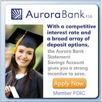 Aurora Bank Savings Account