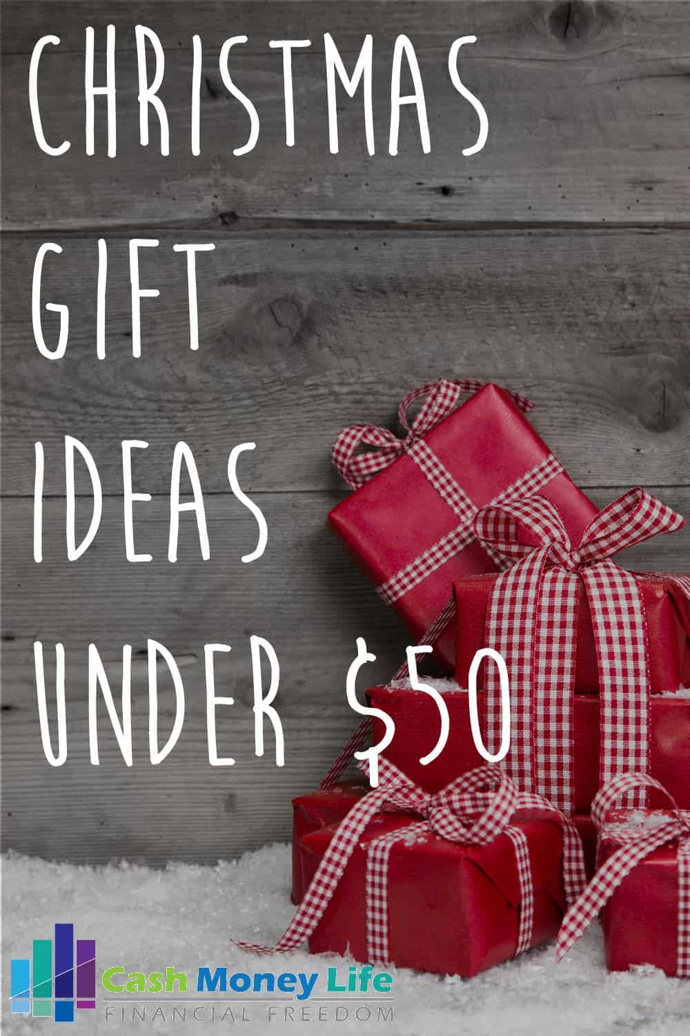 Christmas Gift Ideas Under $50