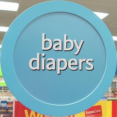 exchange baby diapers