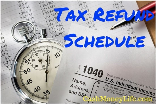 When Will I Get My Tax Refund? 2016 Tax Year Refund Schedule