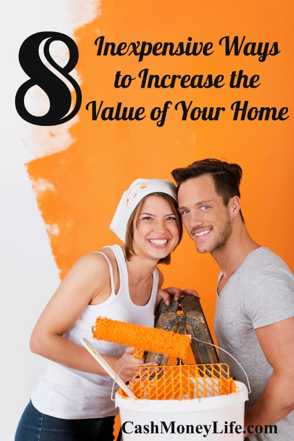 inexpensive ways to increase the value of your home