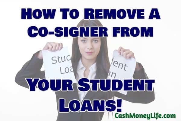 Remove cosigner from student loans